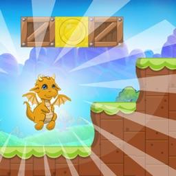 Super Adventure Of Zog - Yellow Dragon Run Jump