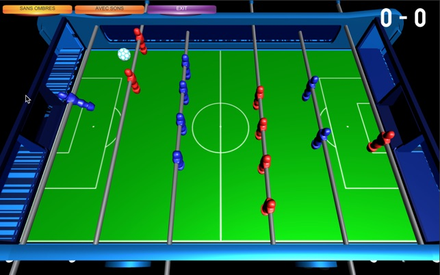 Table soccer foosball 3d on the mac app store for Table 6 2 ar 71 32