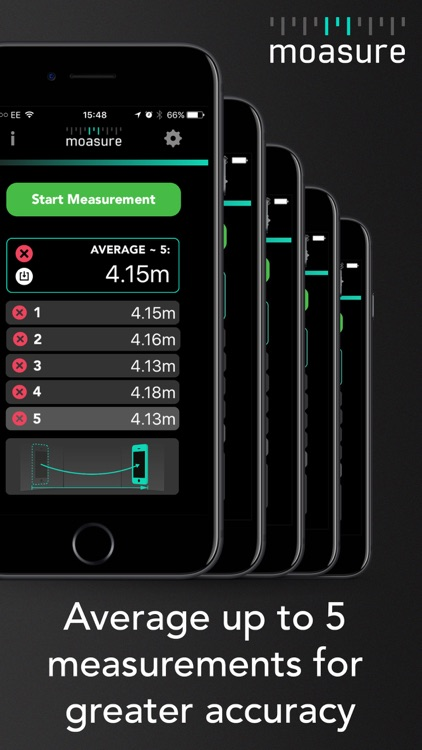 Moasure - the smart tape measure screenshot-4