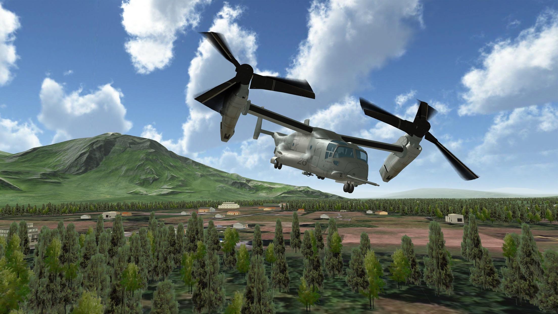 Air Cavalry - Helicopter Combat Flight Simulator Screenshot