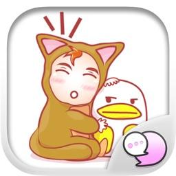 Little baby Stickers & Emoji Keyboard By ChatStick