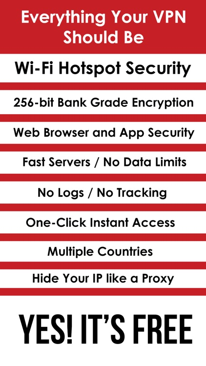 VPN Freely - WiFi Hotspot Security and Free Proxy screenshot-3