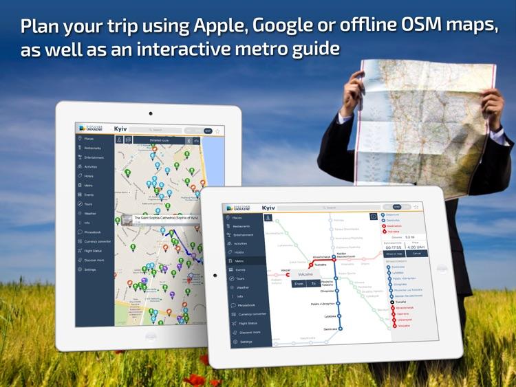 Kiev Travel Guide & offline map screenshot-3