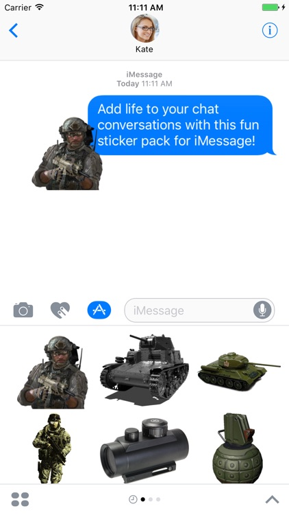 Military Ultimate Sticker Pack