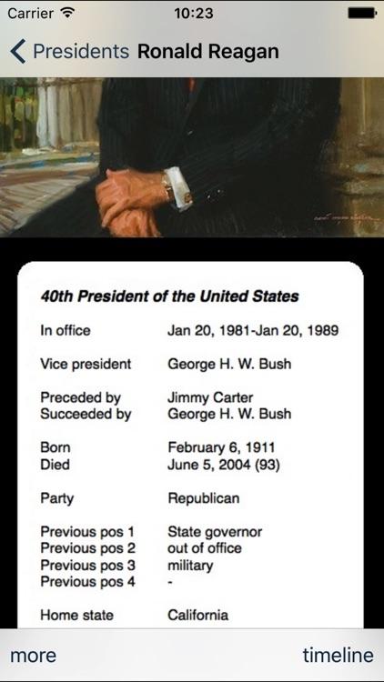 Presidents of USA screenshot-3