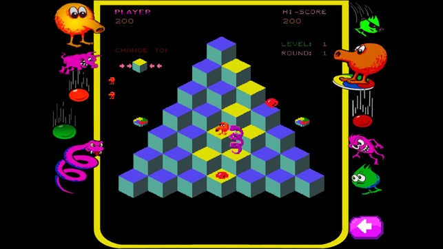 Qbert Rebooted On The App Store
