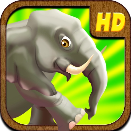 An Elephant Safari Run icon