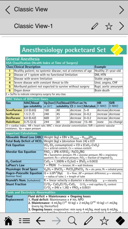 Anesthesiology pocketcards screenshot-4