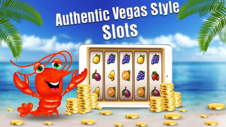 Free Casino Games - Lucky Lobster Slots screenshot-4
