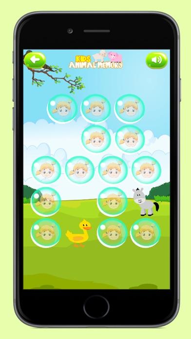 Kids Animals Memory screenshot two