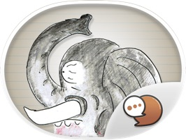 Cartoon Buntorn V.3 Funny Stickers for iMessage