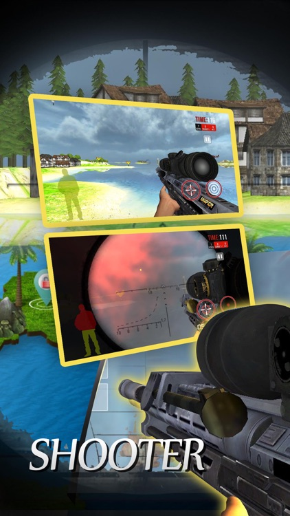 Mountain shooter :assassin games