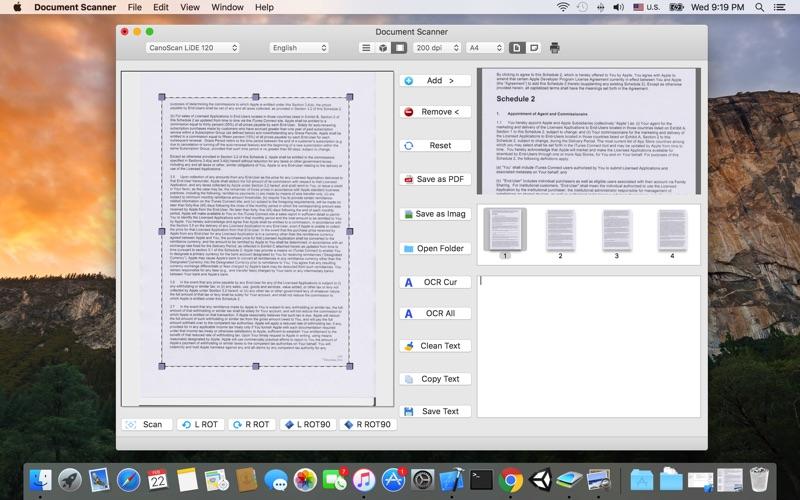 Document Scanner скриншот программы 3