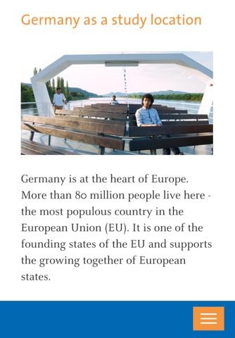 Study in Germany screenshot 3