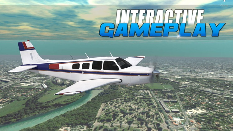 Real Airplane Pilot Flight Simulator Game for free by Ahmed