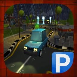 `Cartoon Car Parking Driving Simulator