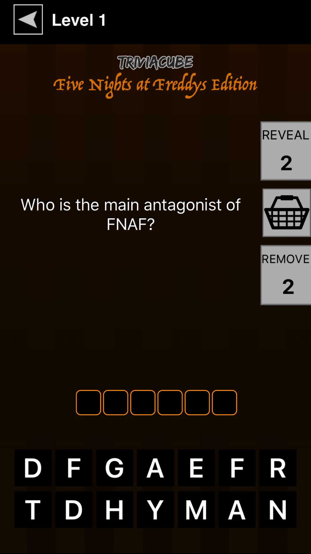 Trivia For Five Nights At Freddy's hack tool