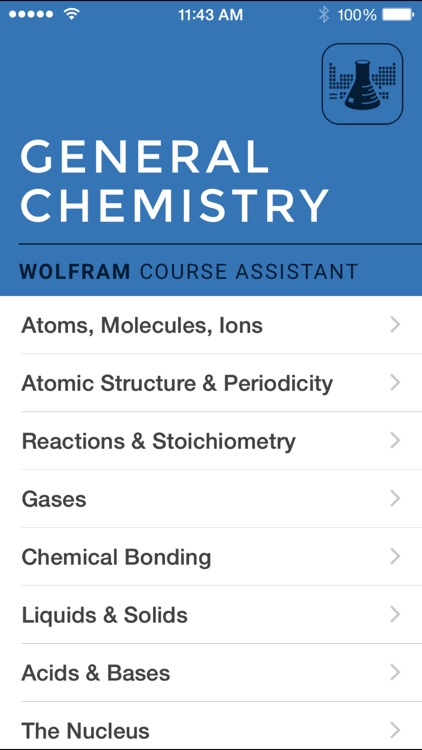 Wolfram General Chemistry Course Assistant