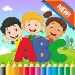 ABC Coloring Book for kids age 1-6 :Cute alphabets