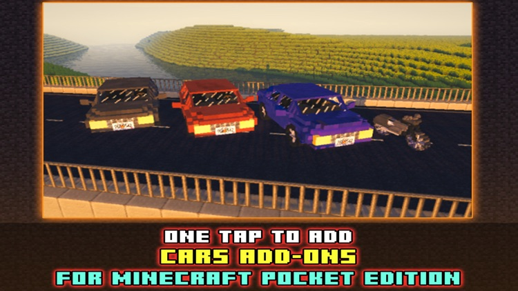 Cars Addons Maps for Minecraft - Pocket Edition PE screenshot-0