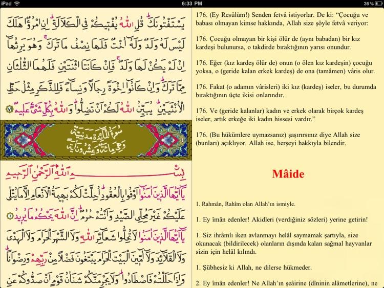 Kur'an-ı Kerim - iPad için screenshot-4
