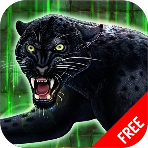 Черная пантера имитатор - Дикие животные выживание