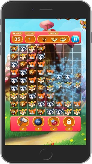 animal super match3 screenshot four