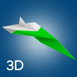 Origami Plane 3D Animated Paper Folding Made Easy