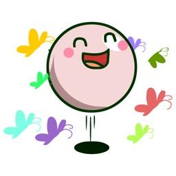 Bouncy Ball Animated Emoji Stickers