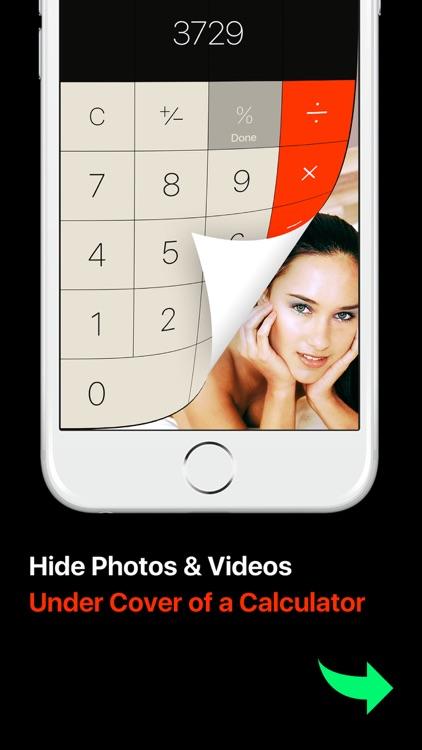 Photo Lock Vault Calc+: keep photo & video secret