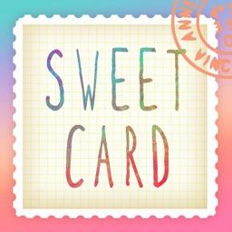 SweetCard - 写真でかわいいオシャレ年賀状2018