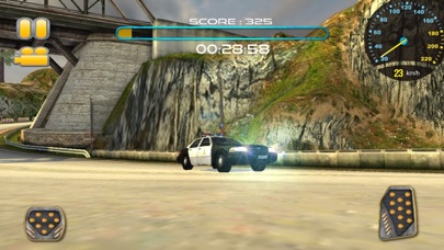 Police Car Chase:Off Road Hill Racing app image