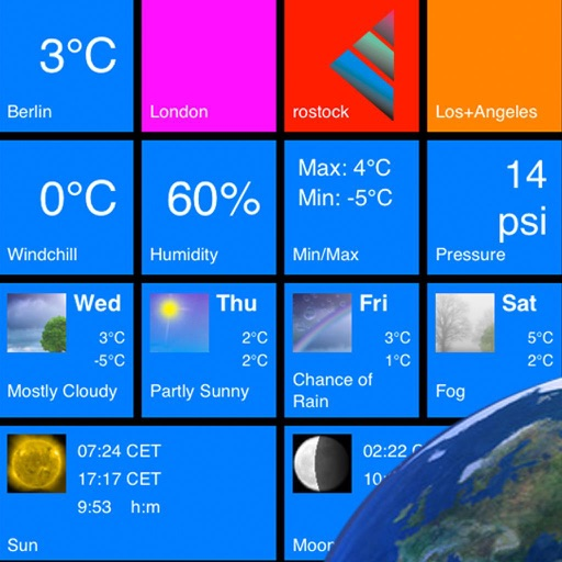 Tile Weather Online