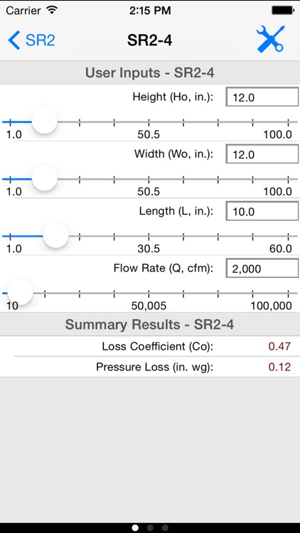 HVAC ASHRAE Duct Fitting Database screenshot-1