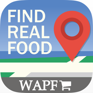 Find Real Food Locations app