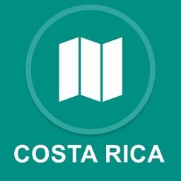 Costa Rica : Offline GPS Navigation