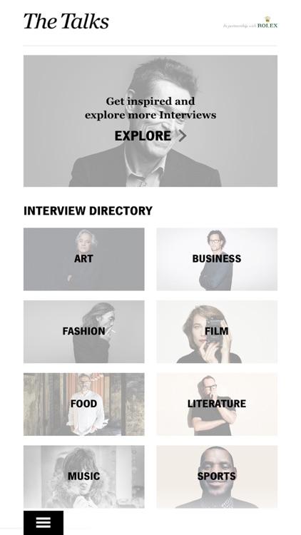The Talks Interview Magazine