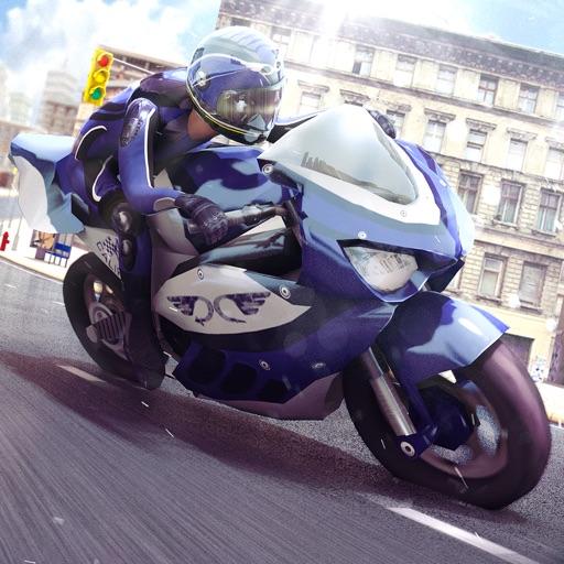 мото спорт гонщик игра . мотоцикл нитро гонки 3д
