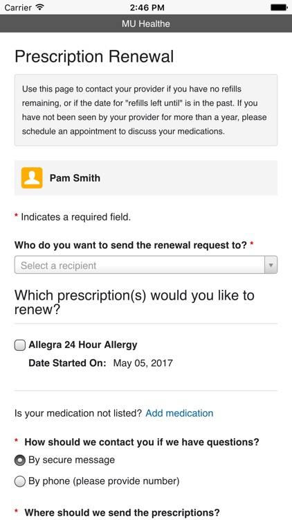 MU Health Care screenshot-3