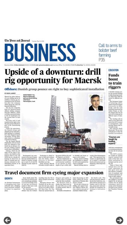 Press And Journal Aberdeen