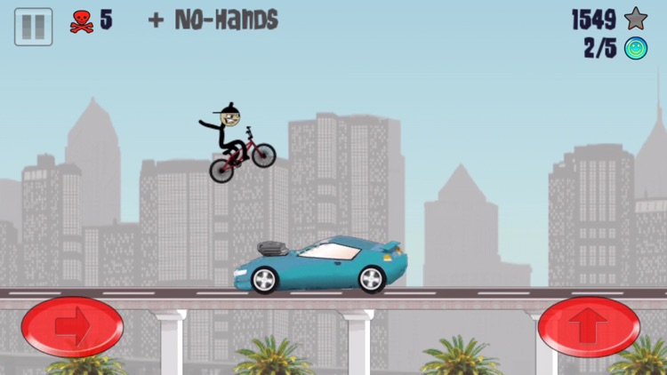 Stickman BMX Free screenshot-3