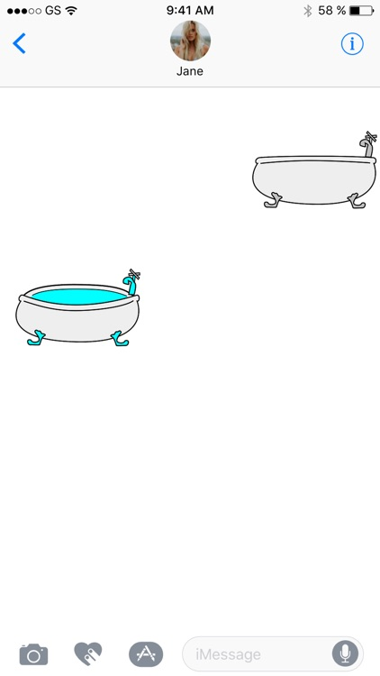 Bathtubs Sticker Pack