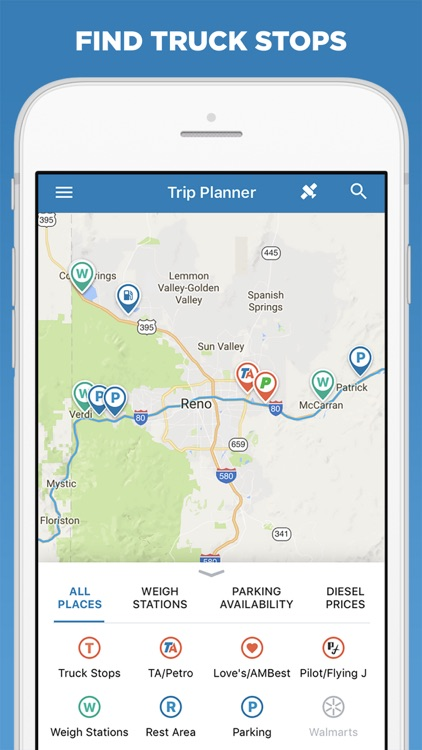 Trucker Path – Truck Stops & Weigh Stations
