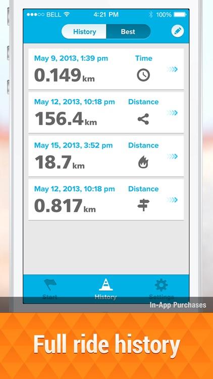 GPS Cycle Computer lite screenshot-3