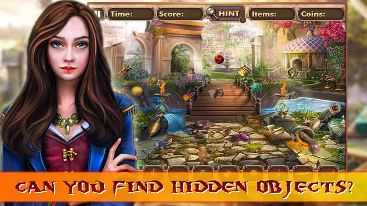 Hidden object: Mysterious traveler pro