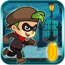 The Thief Runner - Escape the cops by moving fast