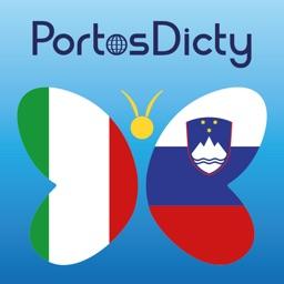 PortosDicty Dizionario Italiano-Sloveno, Slovensko italijanski slovar - Free Version
