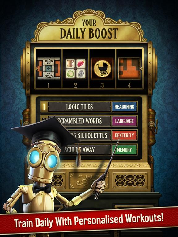 Clockwork Brain Training   Memory & Attention Game iPad app afbeelding 3