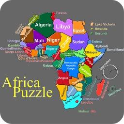 Africa Puzzle Game