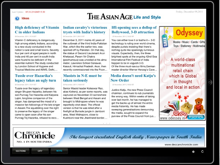 The Asian Age for iPad screenshot-3